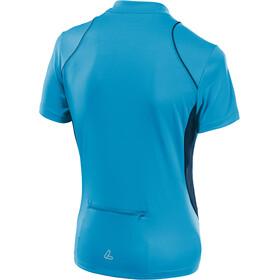 Löffler Pura Bike Shirt Half-Zip Damen topazblue